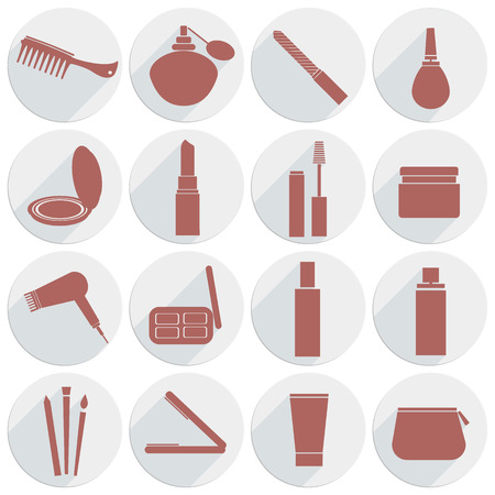 Hair And Makeup Icon Vector Icon Beauty Makeup