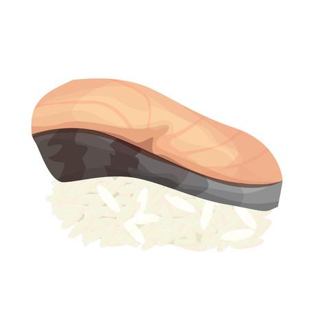 mackerel: sushi with mackerel