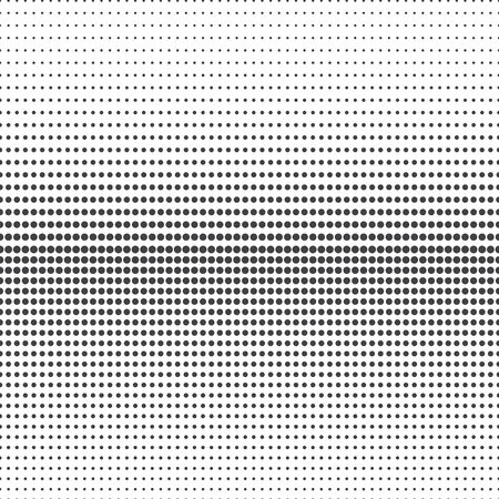 doted: Abstract halftone. Black dots on white background Illustration