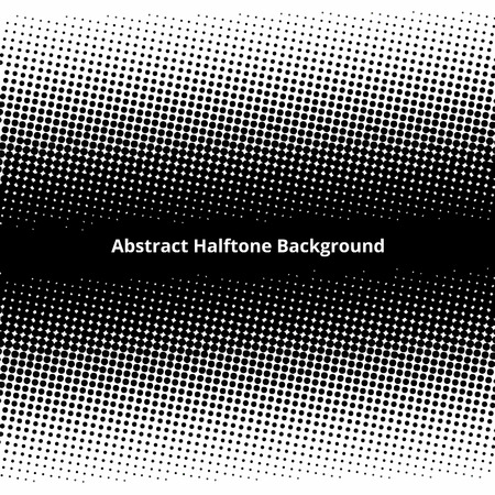 abstract halftone effect
