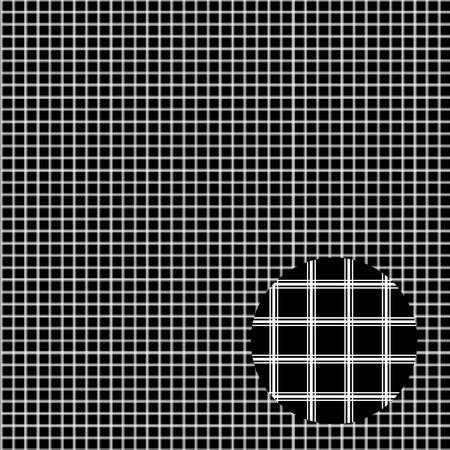 gray pattern: seamless pattern, gray cell