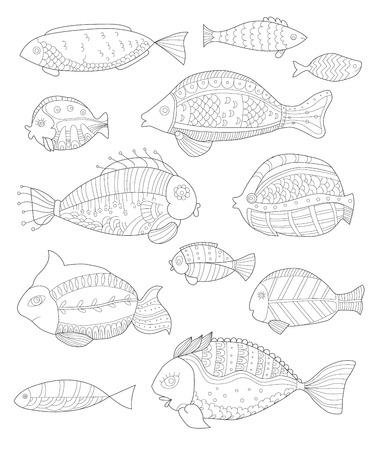 Niedlich Fische Färben Druckbare Seiten Fotos - Ideen färben ...