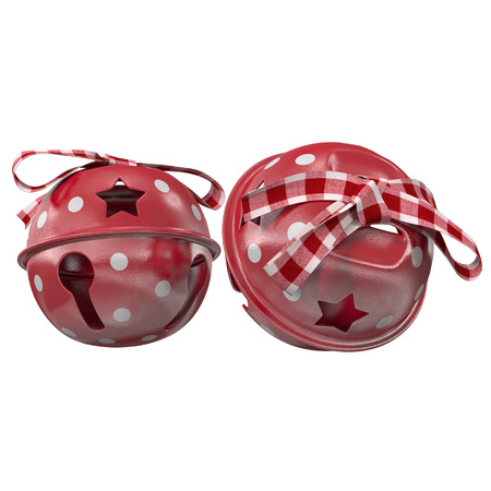 Christmas decorations 3d render Stock Photo