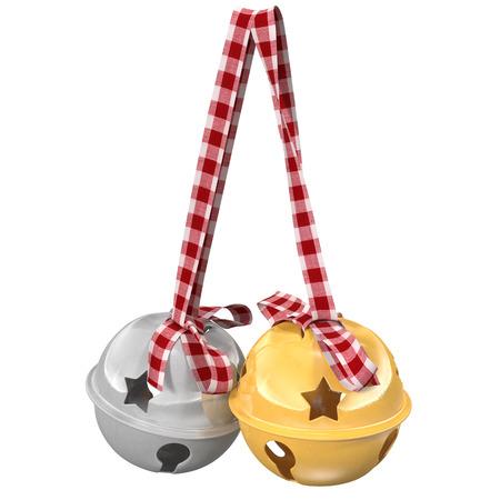 jingle bells: Jingle bells. 3d illustration
