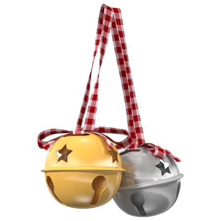 Jingle bells. 3d illustration