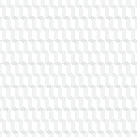 White seamless cubic pattern