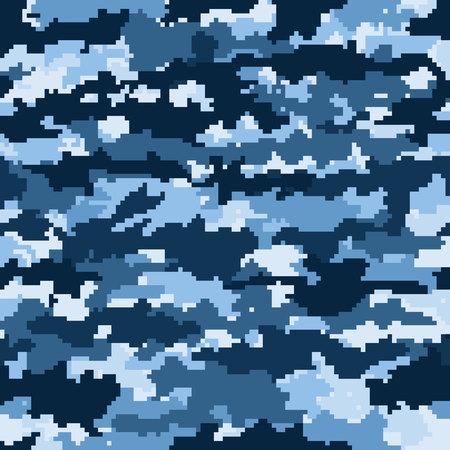 seamless camouflage pattern effect pisselnym Stock Photo