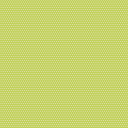 seamless pattern with white dots on a green background