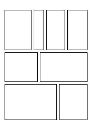 Blank Comic Book and Sketchbook for Kids and Adults to Draw Comics and Journal