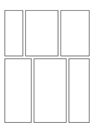 Comic Book Strip Templates For Drawing