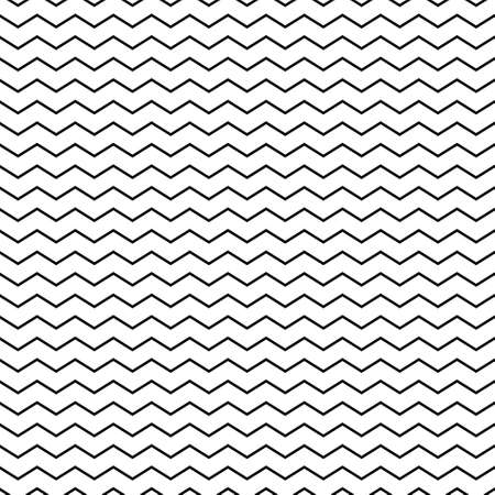 Vector zigzag seamless striped pattern - minimalistic design 向量圖像