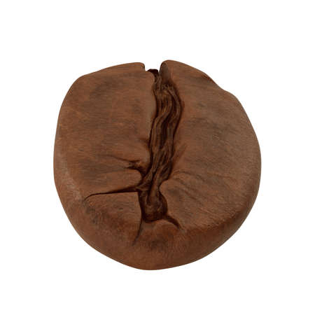 Realistic Coffee Bean 3D illustration