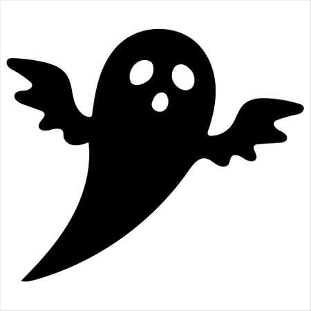 ghost silhouette Vettoriali