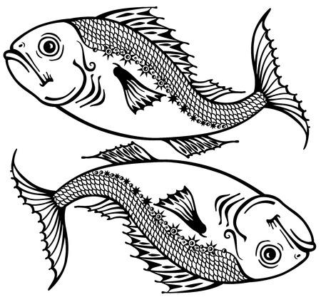 Pisces astrological zodiac sign
