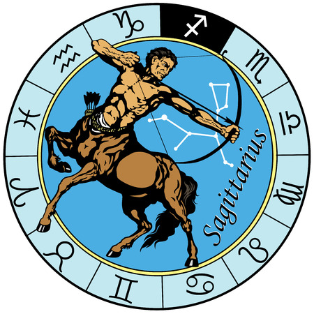 sagittarius the centaur archer, astrological zodiac sign