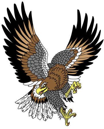 Stylized Japanese eagle.