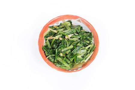 lactuca: fried Indian Lettuce (Lactuca sativa Linn)