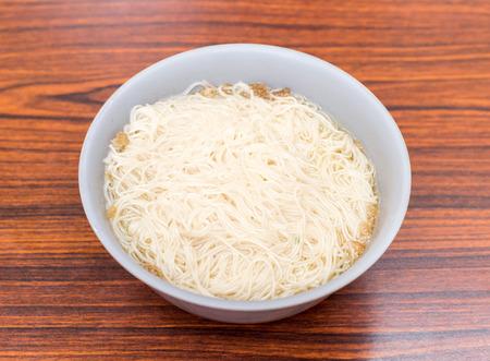 lard: Lard noodles