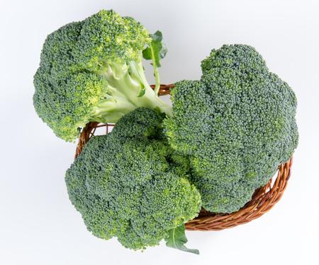 Green cauliflower (broccoli) Stock Photo