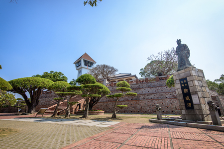 Tainan, Taiwan - April 5,2017: Fort Zeelandia in Taiwan Tainan