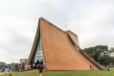 The Luce Chapel in Tunghai university