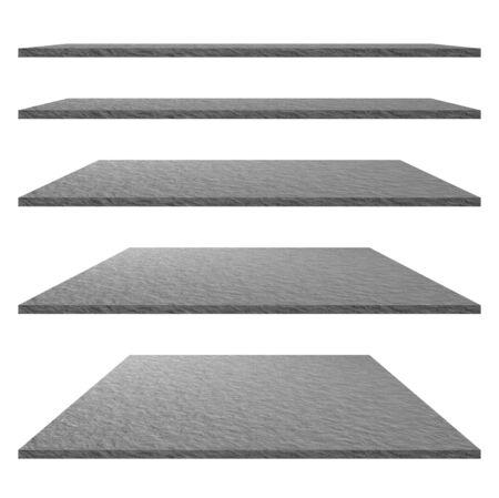 Élément de design - Texture et arrière-plan de la pierre. Texture de roche. Concept de texture de ciment. Sol, étagère pour présentation de produits, annonces commerciales.