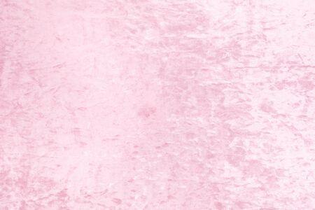 Silky plush pink backround, romantic concept