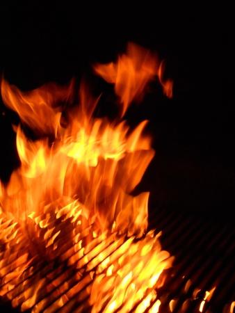 inside the fire Фото со стока