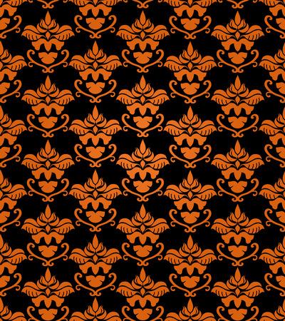 Seamless halloween background Stock Vector - 5462311