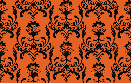Seamless halloween background Stock Vector - 5462321