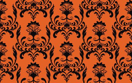 Seamless halloween background Stock Vector - 5462321