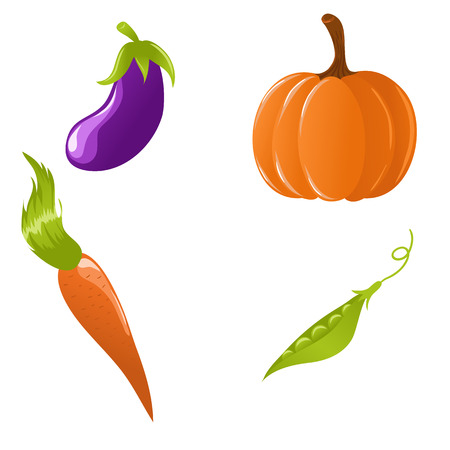 Set of vegetables Stock Vector - 5462308