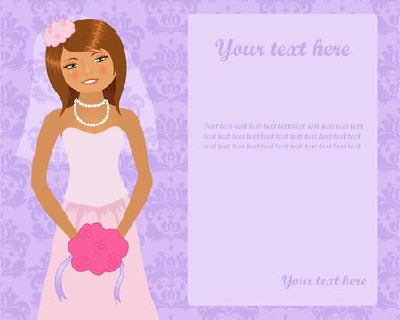 Wedding invitation Stock Vector - 5462324