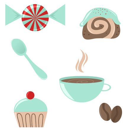 Coffee break icons Stock Vector - 5462307