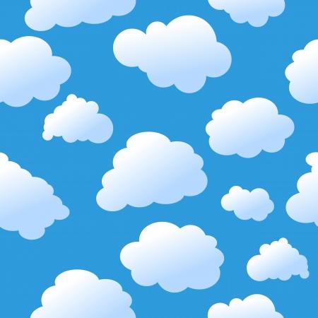 in clouds: Nuvole senza saldatura