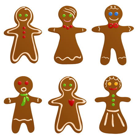 Gingerbread cookies Stock Vector - 5933863