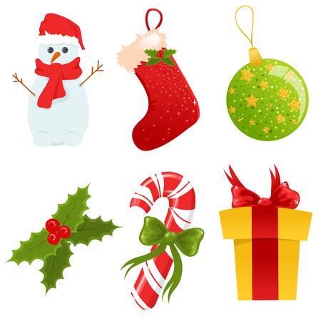 Weihnachten-Symbole