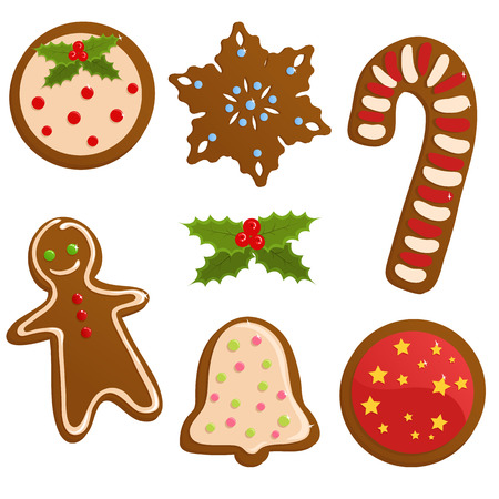 Christmas cookies Stock Vector - 5933859