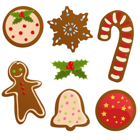 gingerbread cookies: Christmas cookies