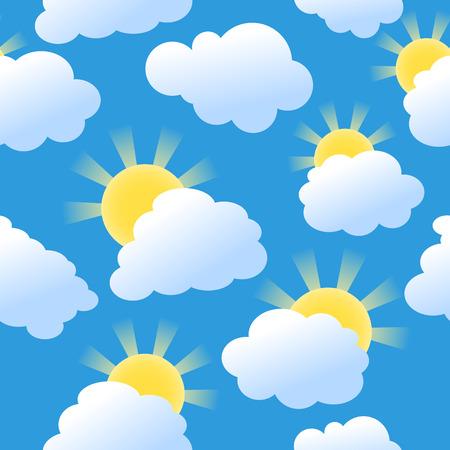 Seamless sunshine Stock Vector - 5933869