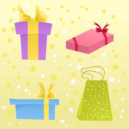 Birthday/Christmas presents Stock Vector - 5933870