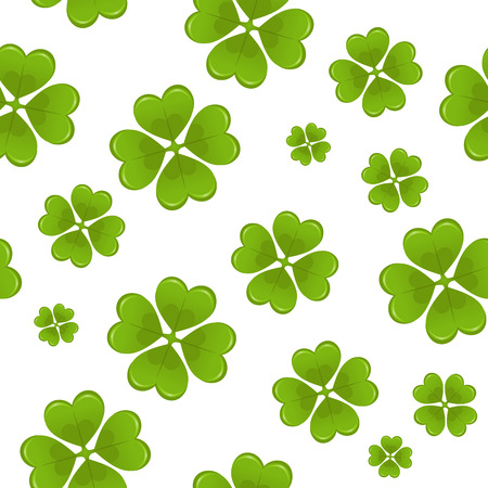 Seamless St.Patricks day background Stock Vector - 6365243