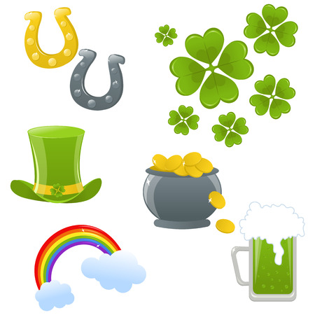 St.Patricks day icons Stock Vector - 6365250