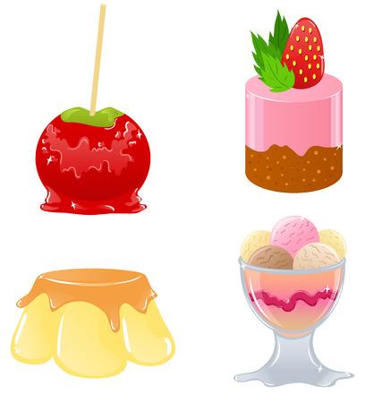 sorbet: Delicious desserts Illustration