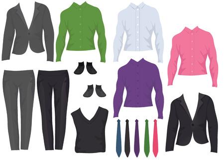 poup�e: Bureau m�les outfits