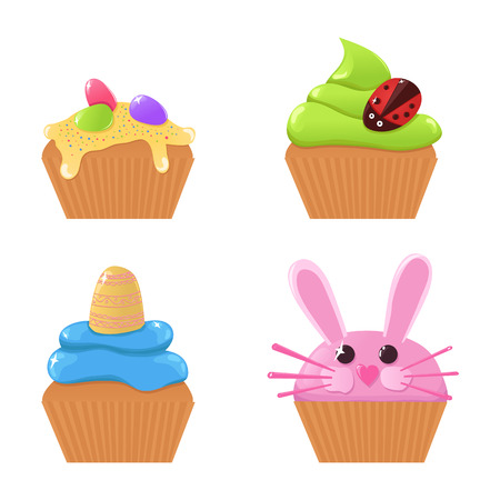 egg cups: Easter cupcakes