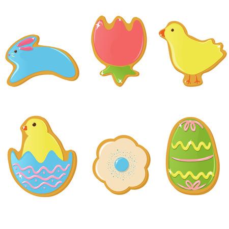 easter cookie: Easter cookies Illustration