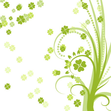 lucky day: Vector St. Patricks day background