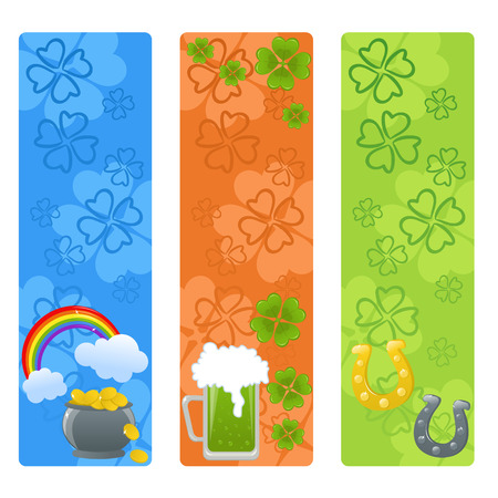 Set of St. Patrick's day banners Stock Vector - 8843771
