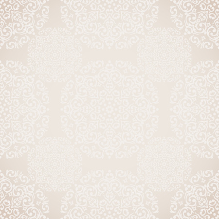 Vector seamless baroque damask luxury background Illustration